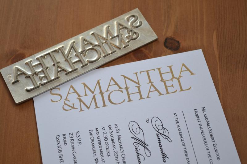 Wedding Invitation Embossed as awesome invitation ideas