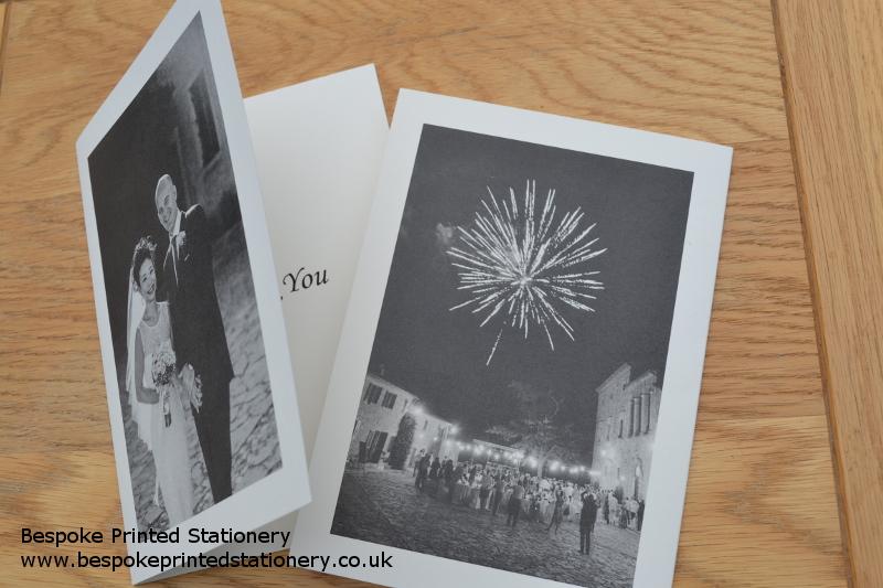 Thank You Cards Bespoke Printed Stationery – Wedding Thank You Cards Uk